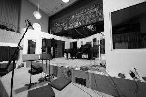 aperçu du studio d'enregistrement