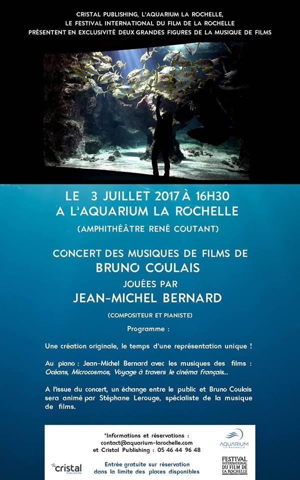 Concert Unique : Jean-Michel Bernard joue Bruno Coulais