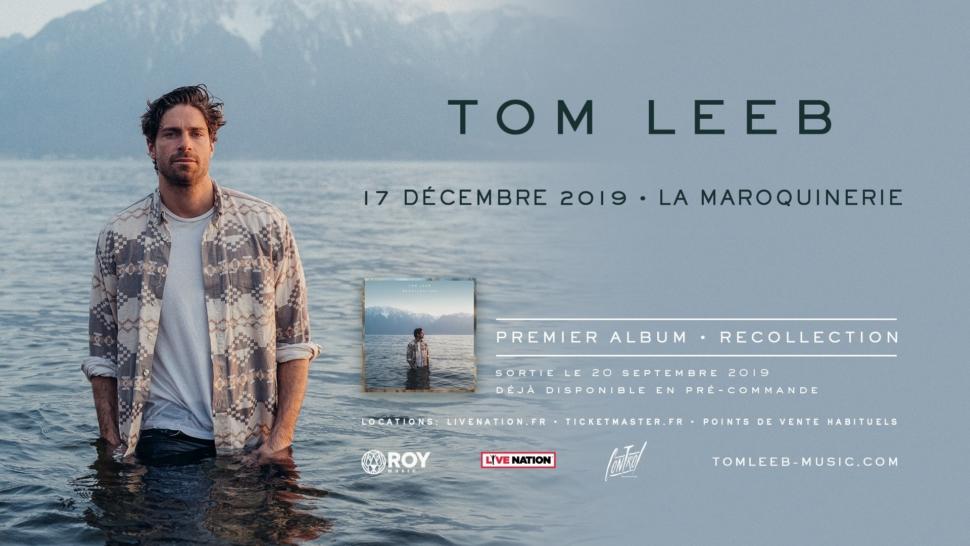 Tom Leeb en concert à La Maroquinerie