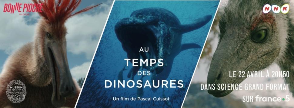 Un voyage inédit « Au temps des dinosaures » !